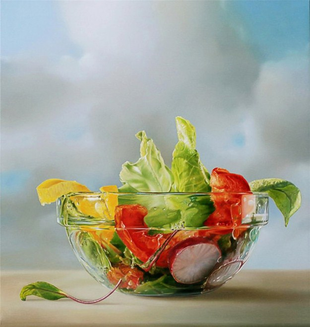 Picture-2 ( 25 Mega Realistic Oil Paintings by Dutch Artist Tjalf Sparnaay )